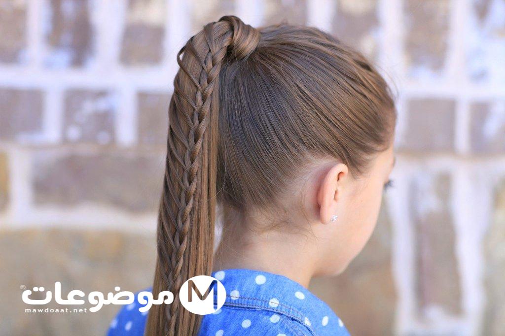 تسريحات شعر للاطفال للمدرسة