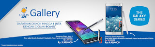 Promo BCA Gallery Untuk Pembelian Samsung Diskon Hingga 1 Juta