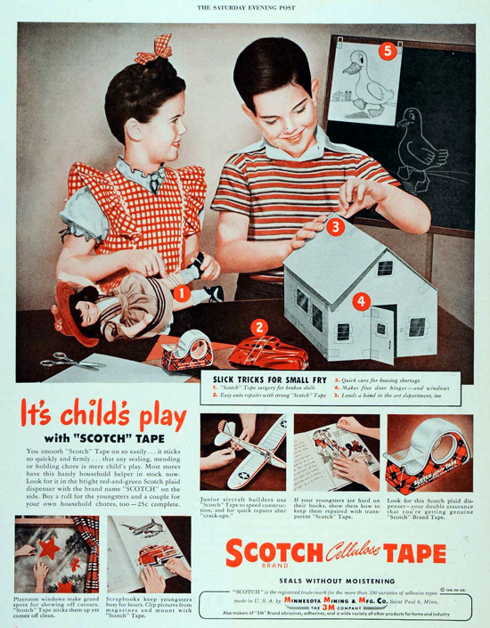 Scotch advertising 1946