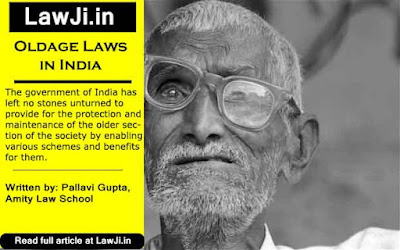 old age laws, Senior citizen laws, Maintenance to parents, section 125, CRPC, Article 41