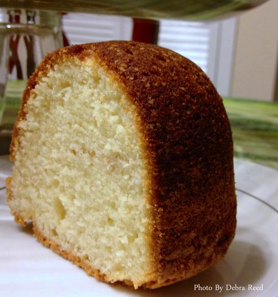 Sour Cream Cake From Scratch