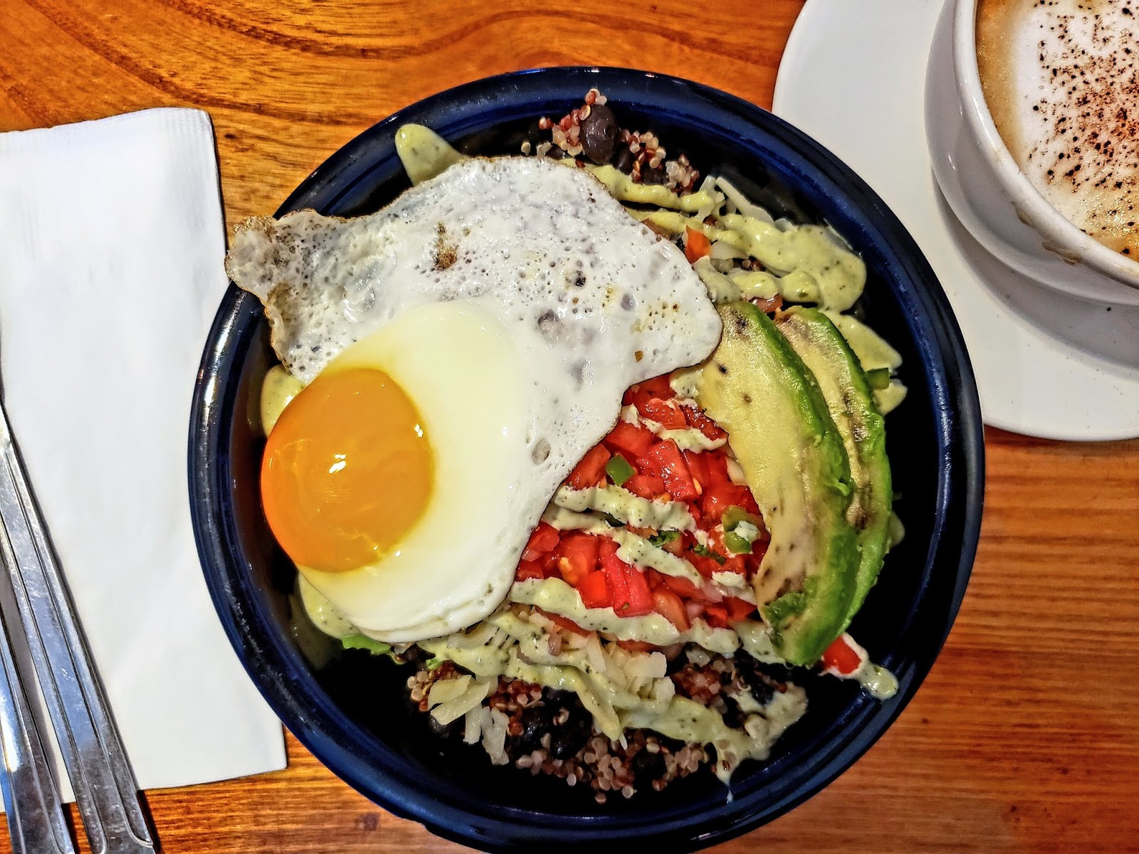 Breakfast Bowl, Luna Cafe, Philadelphia