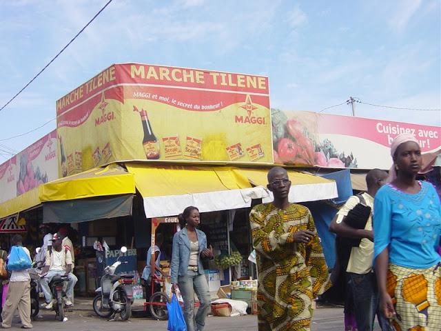 Tilène, le marché parfait pour découvrir des saveurs : Tourisme, marché, Tilène, Médina, ville, légumes, frais, fruits, LEUKSENEGAL, Sénégal, Dakar, Afrique