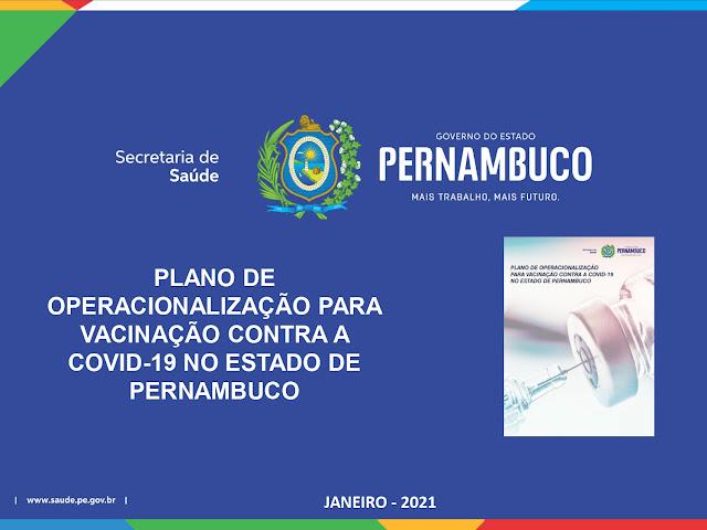 Governo do estado detalha plano de vacinação contra a Covid-19