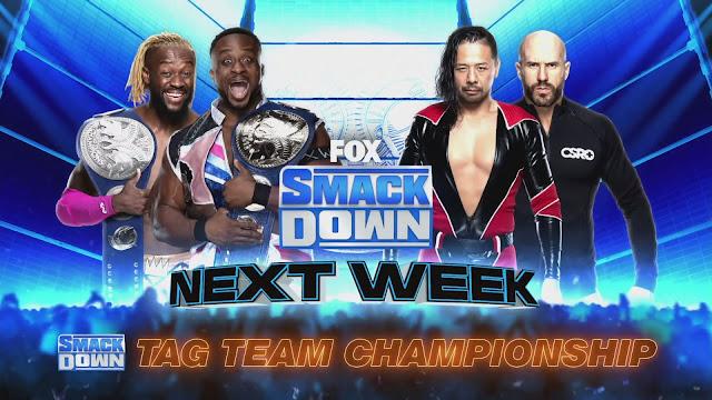 WWE anuncia atrações para o próximo SmackDown