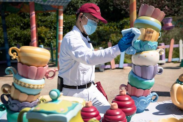 Shanghai Disneyland reopen, 上海迪士尼樂園 重開, Disney Parks