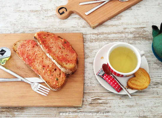 buongiorno A Coruña - 5 colazioni tostadas