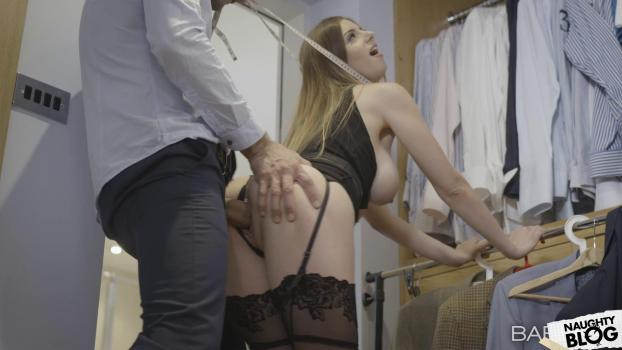 Office Obsession – Stella Cox: The Measure Of A Man