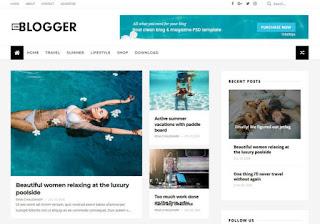Free Premium Blogger Template