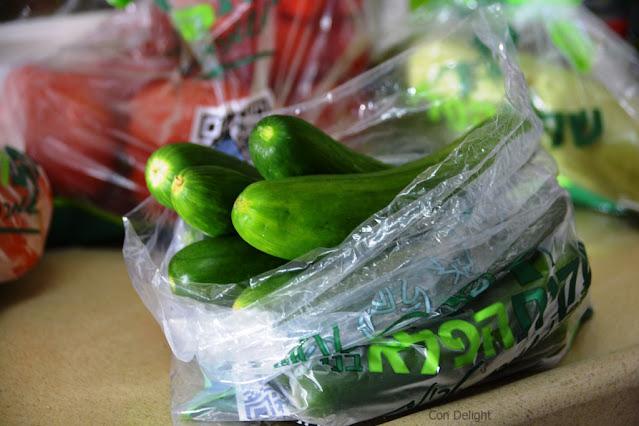 ירקות בתוך שקית הפלא של בני