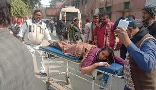 सिंचाई के लिए पाइप फैलाने के विवाद चली गोली, किशोरी गंभीर    #NayaSaberaNetwork