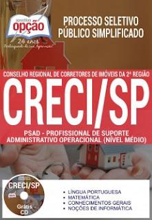 Apostila CRECI 2 Região-SP Processo Seletivo Público Simplificado 2017