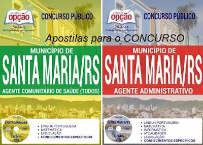 Apostila Prefeitura de Santa Maria (RS) Concurso Público 2017