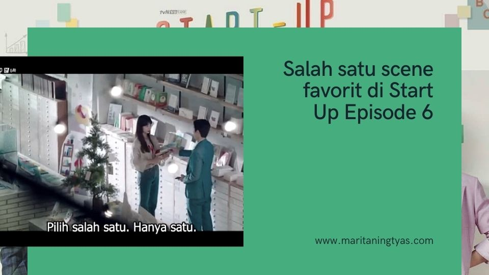 scene favorit di drakor start up