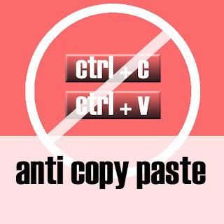 Anti Copy Paste