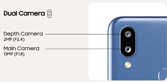Samsung Galaxy M01S Cemera