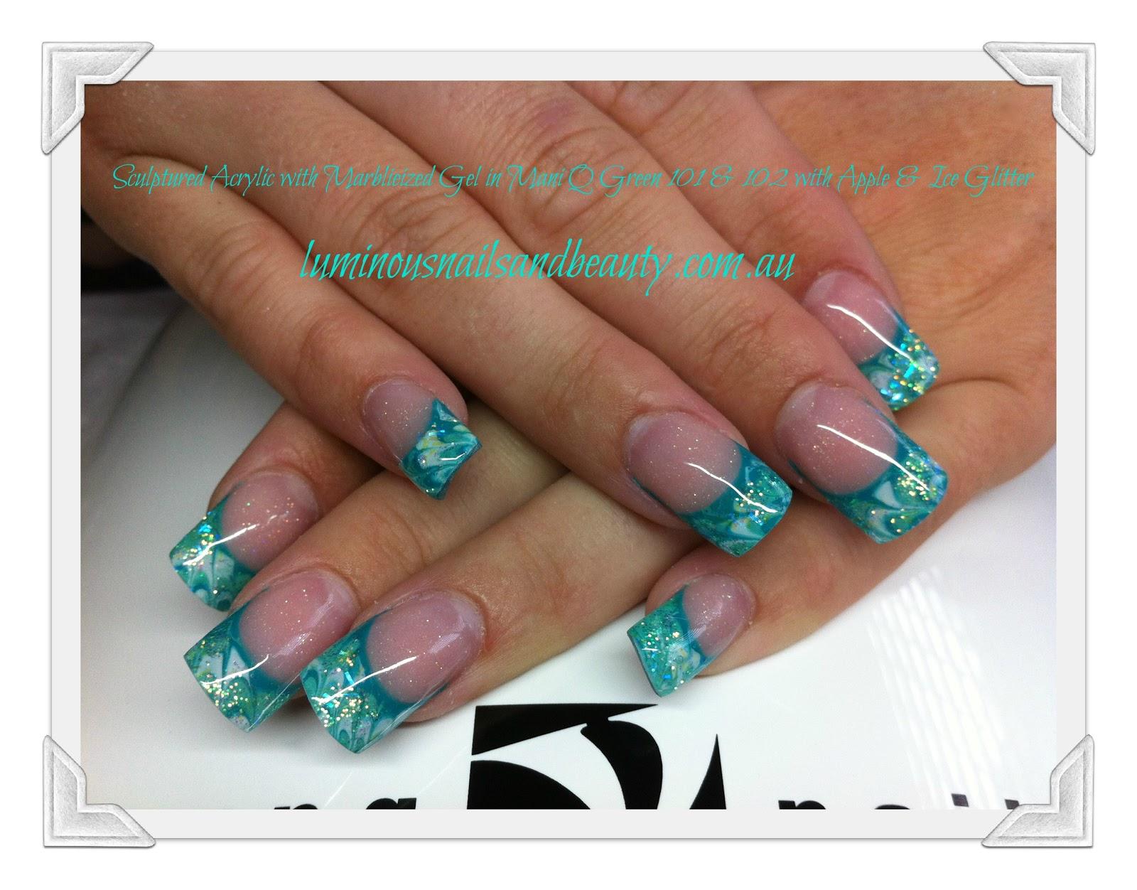 20 Glitter Nail Art Designs Nail And Beauty Ideas ...
