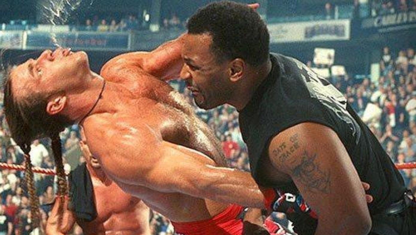 Mike Tyson earning $3.5 million in WWE 1998
