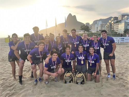 Pumas 7s Invictos en las playas de Ipanema
