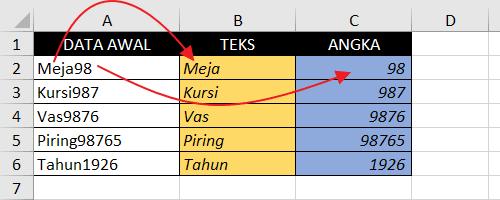 Rumus Memisahkan Teks dan Angka di Excel.png