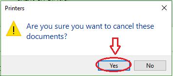 Làm thế nào để tắt lệnh in trên máy tính