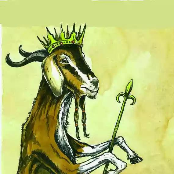 बकरा राजा - Goat King - Hindi Kahani