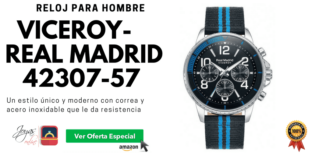 relojes real madrid viceroy