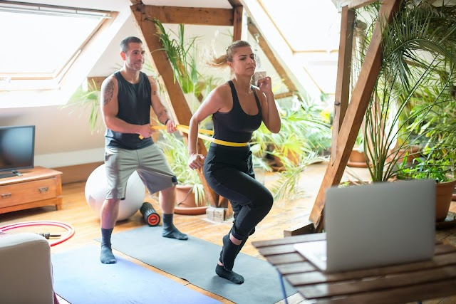Online personal training is the best option for those who exercise in home gyms