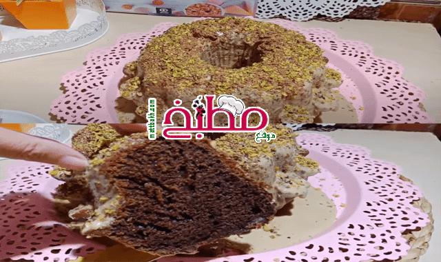 كيكة القهوة فاطمة ابو حاتي