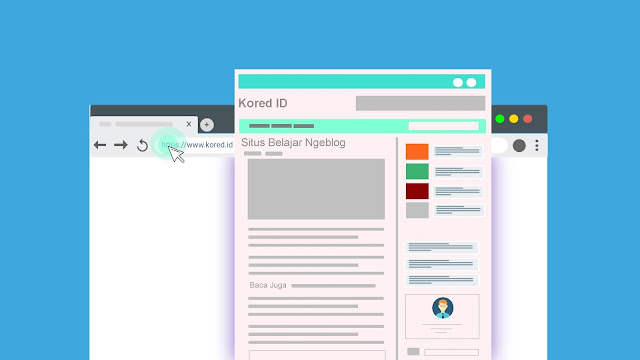 Situs belajar blog - kored id