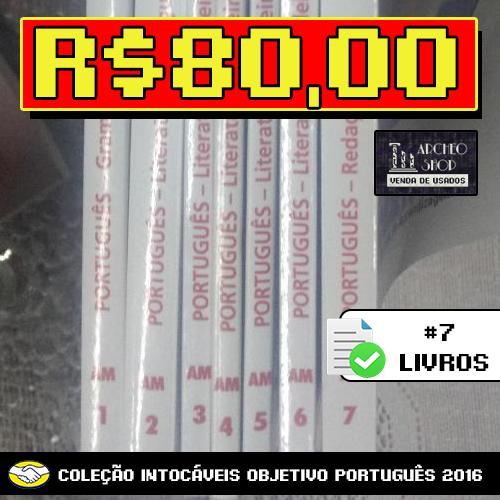 Coleção Intocáveis Objetivo: Português [2016]