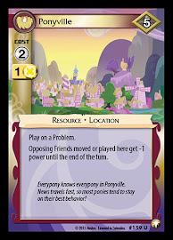 My Little Pony Ponyville Equestrian Odysseys CCG Card