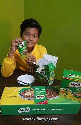 Milo Nutri Breakfast produk terbaru dari MILO