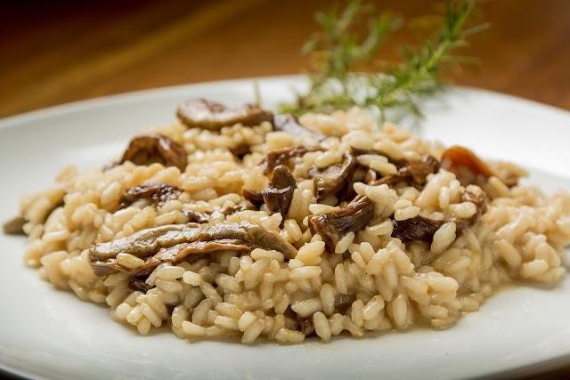 Mushroom Risotto Recipe | How To Make Risotto Rice Pasta