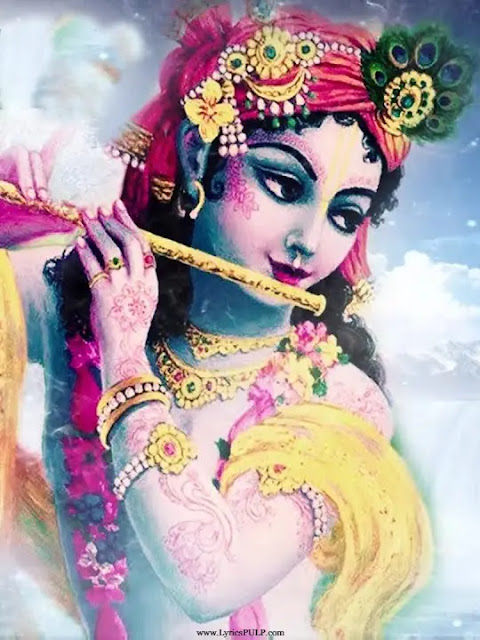 Achyutam Keshavam Krishna Damodaram Lyrics - Krishna Bhajan