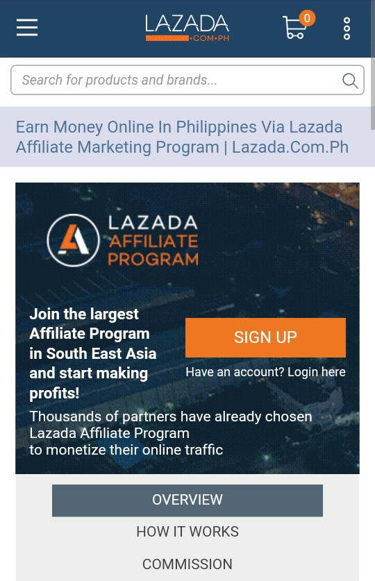 Affiliate Marketing and How to join