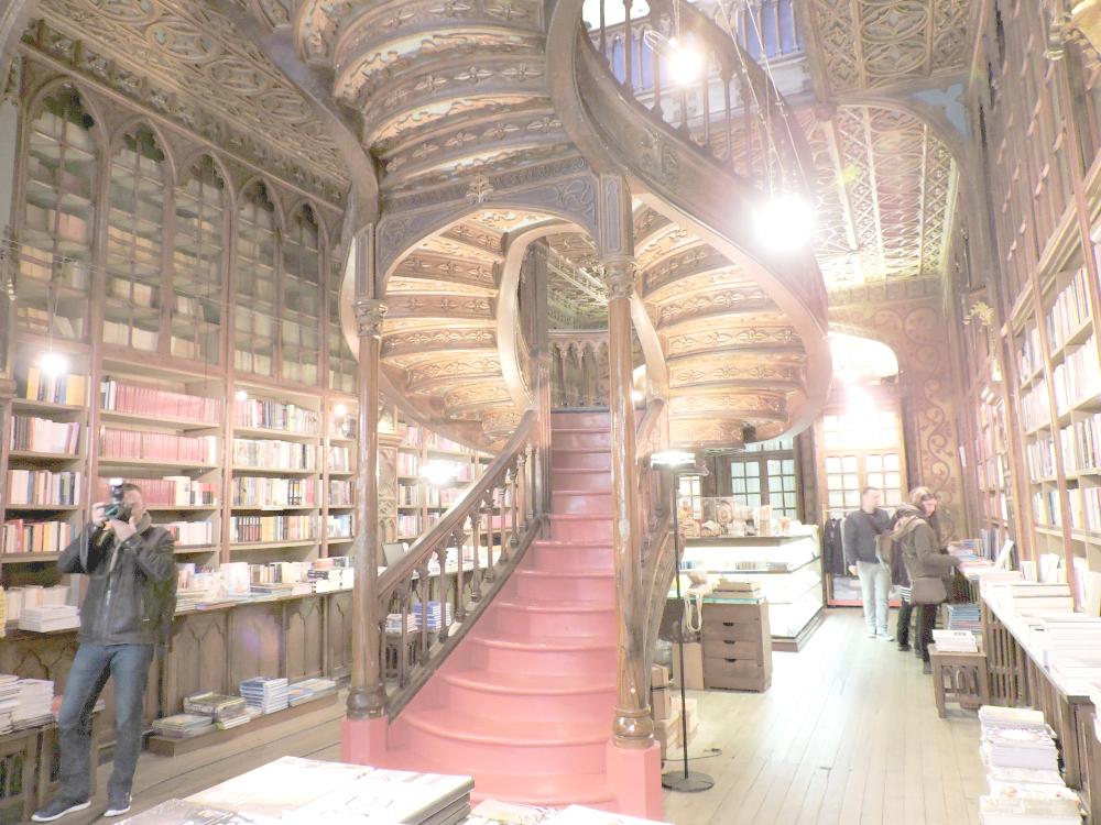 librería Harry Potter, librería J.K Rowling, Librería Lello