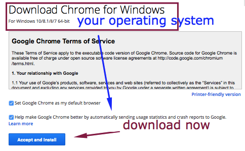 download google chrome windows 10 offline