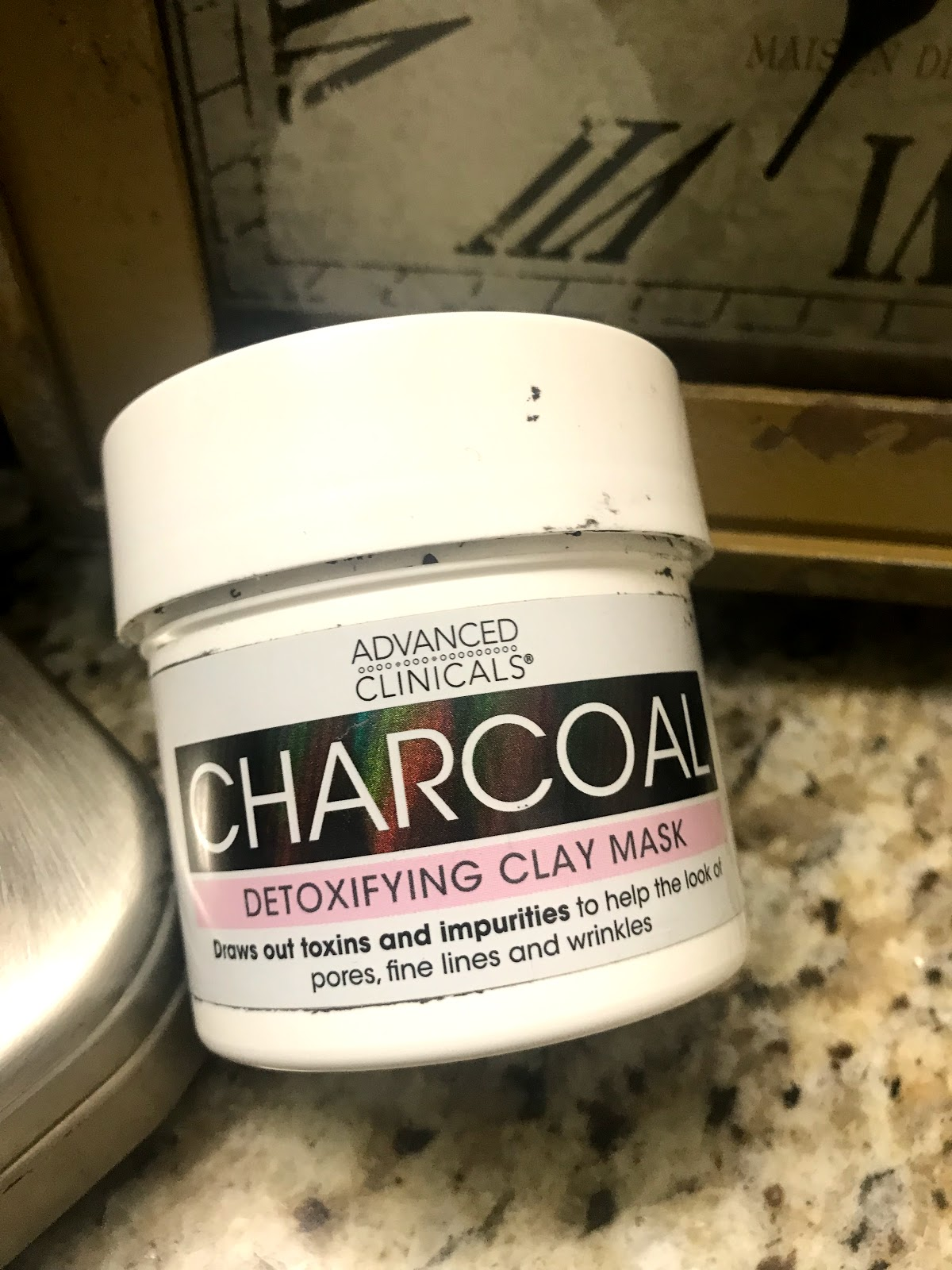 Image: Empty Charcoal mask used up. Tangie Bell is sharing her empties on skincare as inspiration on Bits and babbles blog