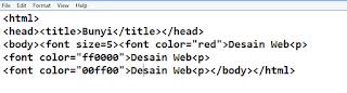 Tips Cara Memberi Warna Font HTML dengan Mudah