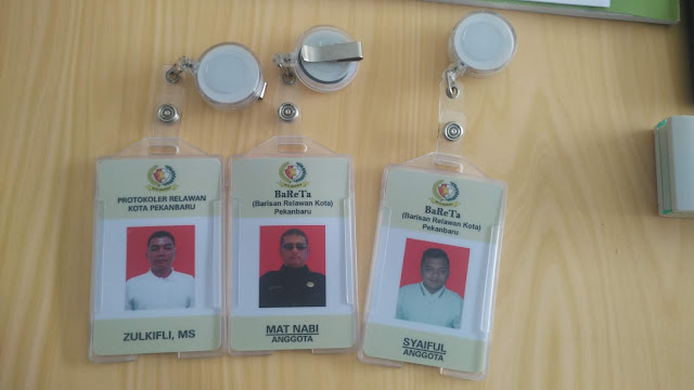 ID Card Anggota Relawan