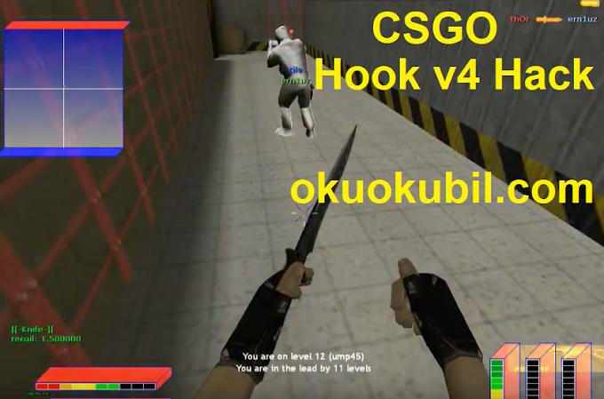 Counter Strike 1.6 DM Field Hook v4 Hack Güncel Hilesi İndir Kasım 2019