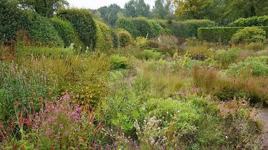 El jardín de Anja y Piet Oudolf en Hummelo. Otoño 2014