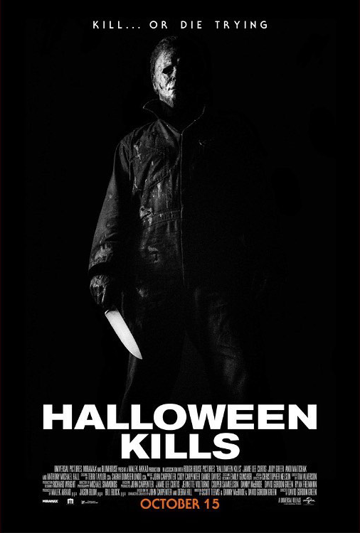 While we receive compensation when you click links to partners, they do not influence our content. The Horrors of Halloween: HALLOWEEN KILLS (2021) Images and Fan Art Poster Collection