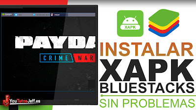 como instalar xapk bluestacks