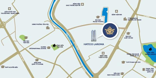 Hateco La Roma: Căn hộ trung tâm – nội thất xứng tầm