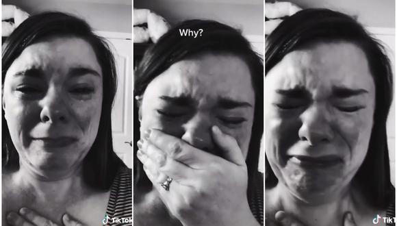 Una mujer se hace viral porque llora por su hijo con síndrome de Down (al que no fueron a acompañarlo a su fiesta)