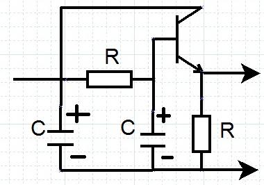 Filter CRC Bertransistor