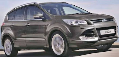 2017 Ford Kuga Facelift UK