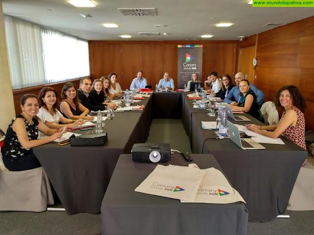 La Palma participa en un encuentro entre los representantes públicos del audiovisual de Canarias